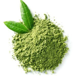 Seraj Green Tea Image - Green Tea Leaf and Powder
