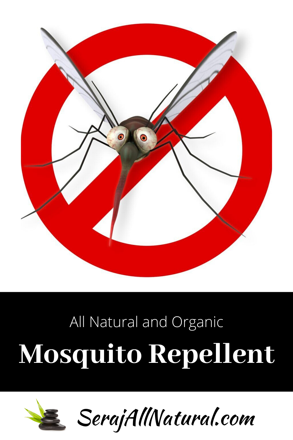 All Natural and Organic Mosquito Repellent Cream from Seraj