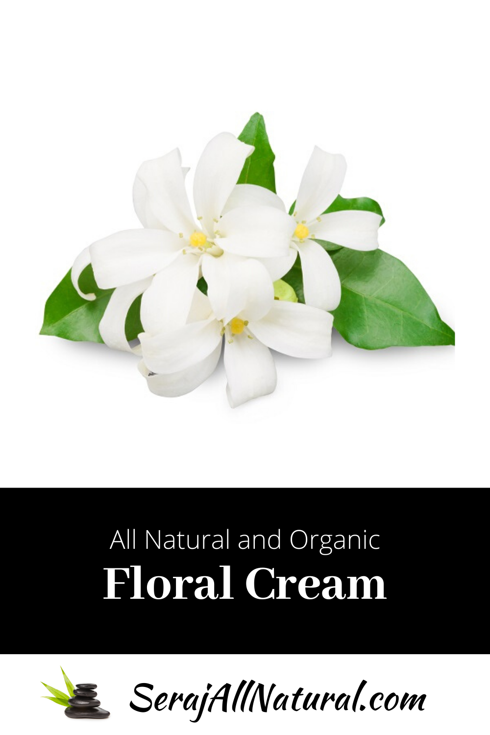 Natural and Organic Floral Face and Body Cream from Seraj