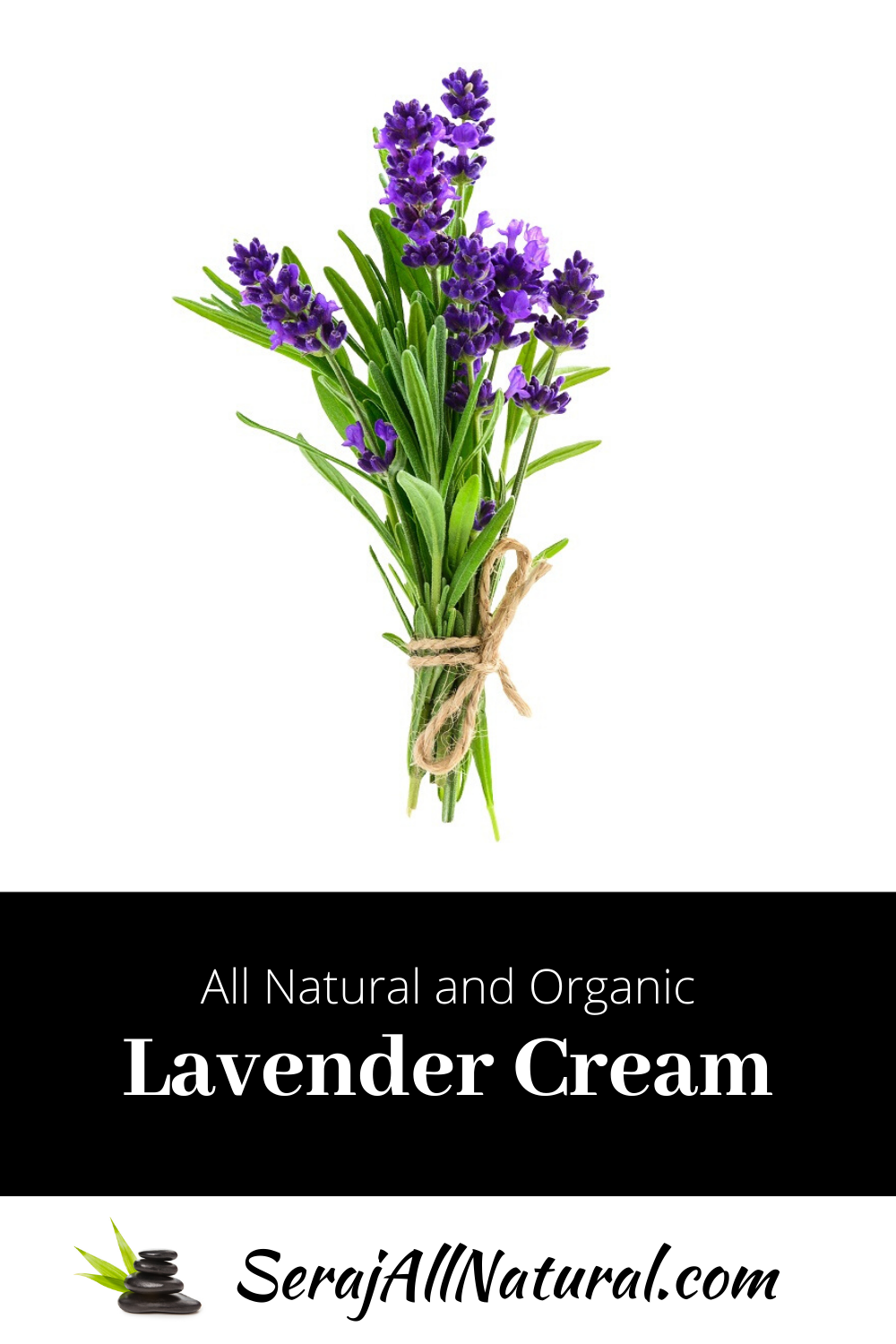 All Natural and Organic Lavender Cream from Seraj