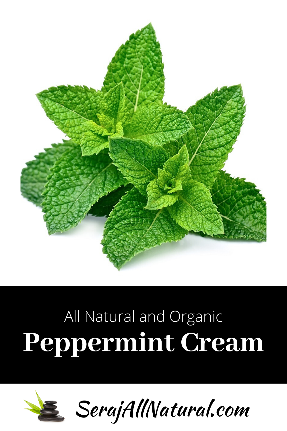 Natural and Organic Peppermint Foot and Body Cream from Seraj